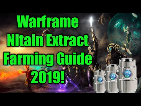 Nitain Extract: Warframe's Important Resource [Farming]