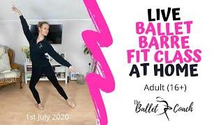 Ballet Barre Fitness Class