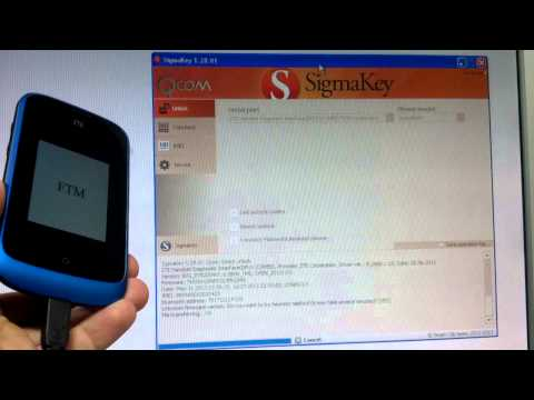 Unlock ZTE Open (Firefox OS) with Sigma - heuristic method of unlocking