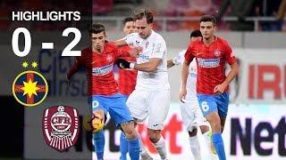 Rezumat: FCSB - CFR 0-2 (liga 1, et 21, ed 2018-2019)