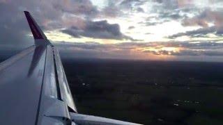 first a321 wizz air ha lxa landing in birmingham bhx