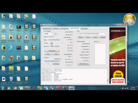 How To Flash Your Xbox 360 Disk Drive\Get Your Key Series:Fat Hitachi 78 & 79 Rev Drives