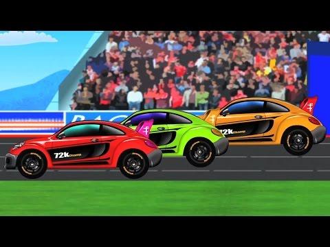 Sports Car | Kids Car Race | Racing Car | baby videos