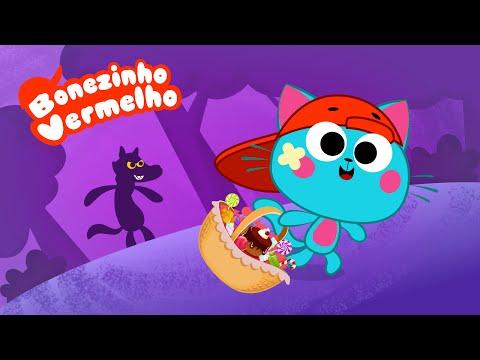 Chapeuzinho Vermelho Desenho Animado - Bonezinho Vermelho