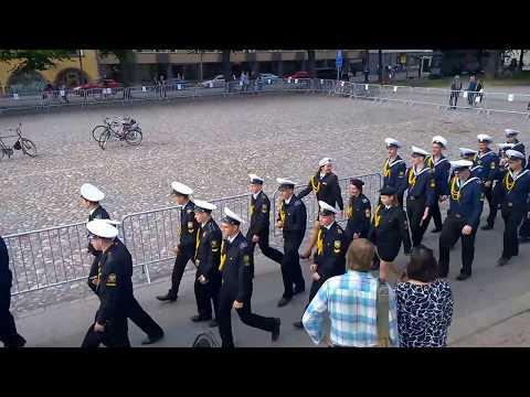 Tall Ships Races 2017 Turku Miehistöparaati Crew parade