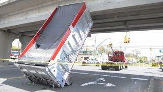 TRUCKS VS BRIDGES l WHAT COULD GO WRONG!?