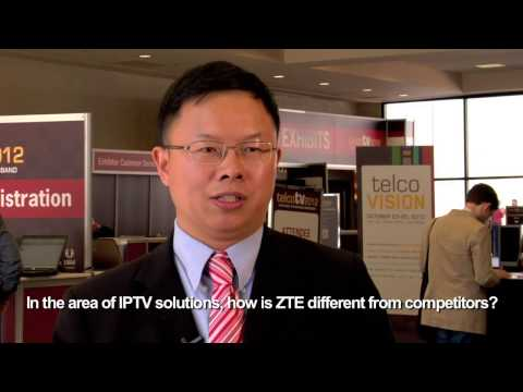 ZTE Shares IPTV Experience & Emerging Trends