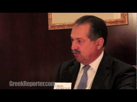 "Founding Member Andrew Liveris Explains ""The Hellenic Initiative"""