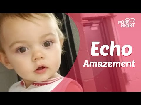 The Ace & TJ Show - Little Girl Discovers Her Own Echo!