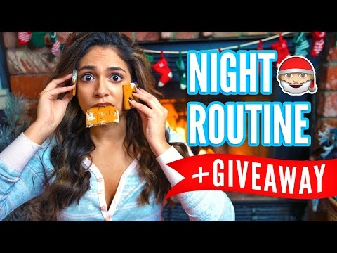 My Winter Night Routine + Huge Holiday GIVEAWAY!