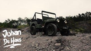 4X4 Jeep lava tour on the Merapi volcano in Indonesia