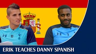 Erik Lamela Teaches Danny Rose Spanish