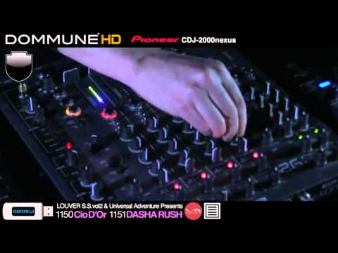 Cio D'Or, Dasha Rush Live @ Dommune (Part 2)