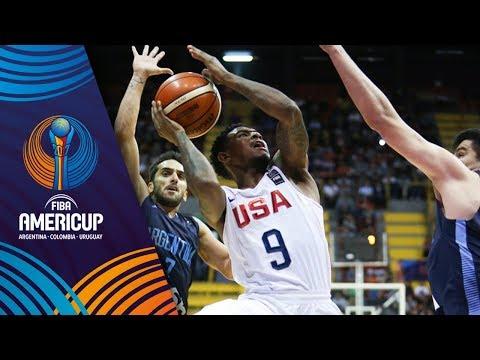 USA v Argentina - Full Game - Final - FIBA AmeriCup 2017