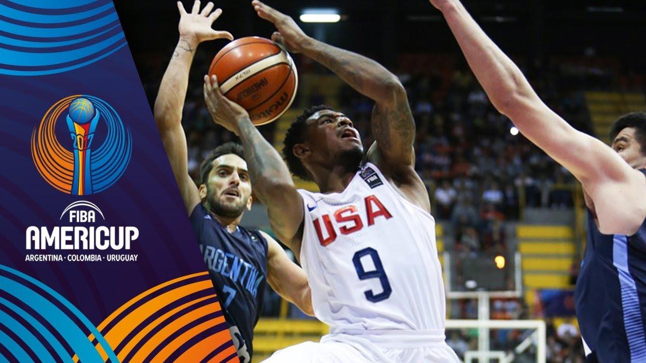 USA v Argentina - Full Game - Final