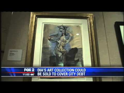 Detroit Officials Mull Sale Of $1 Billion Art Collection To Pay Debts