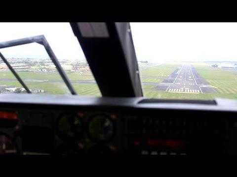 Hebridean Islander Cockpit View Pleasure Flight *Full Flight*