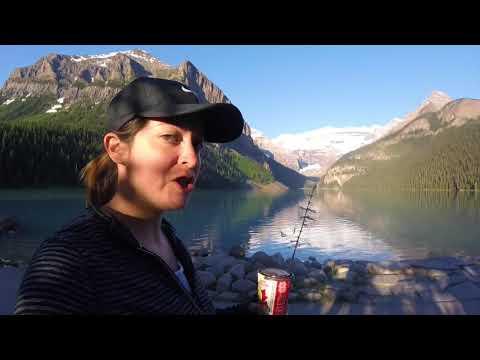 Banff National Park - Moraine Lake, Lake Louise, Peyto Lake, Johnston Canyon