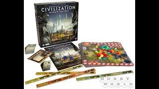 цивилизация Сида Мейера: Новый рассвет 1/2 - играем в настольную игру