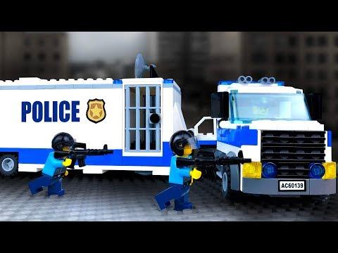 Полиция ЛЕГО Сити 👮 Мультики про LEGO Полицию