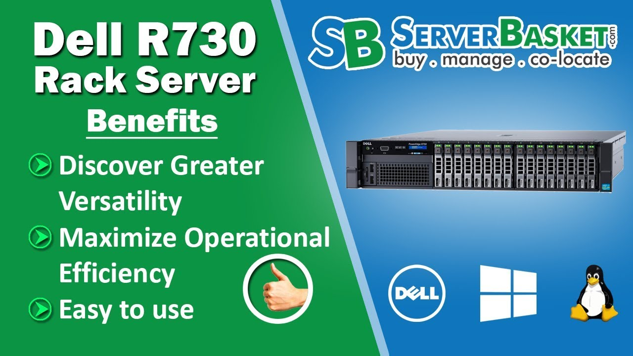 Refurbished Dell PowerEdge R730 Server