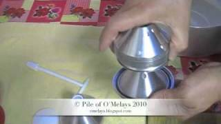 cream separator assembly