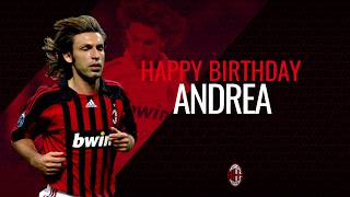 Andrea pirlo's best skills and goals in rossonero