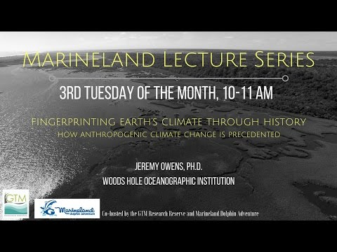 Marineland Lecture Series - March 2017