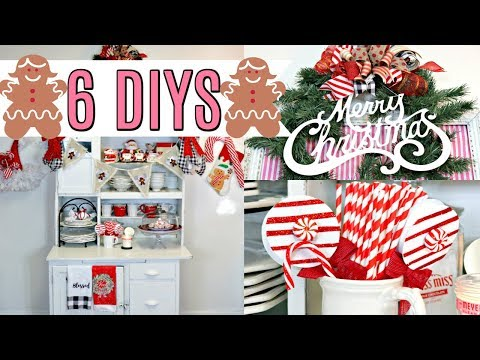 "🎄6 DIY DOLLAR TREE CHRISTMAS DECOR CRAFTS 2019🎄""I Love Christmas"" ep 23 Olivia's Romantic Home DIY"