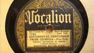 Washboard Rhythm Kings: Sentimental Gentleman from Georgia