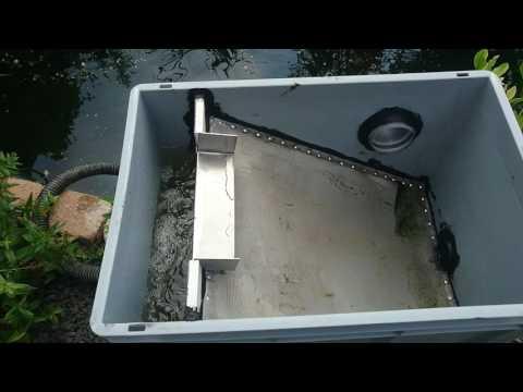 pond filters bogensiebfilter siebfilter bogensieb. Black Bedroom Furniture Sets. Home Design Ideas