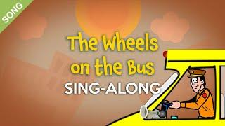 The Wheels on the Bus [SONG] | Nursery Rhymes Sing-Along with Lyrics #nurseryrhymes
