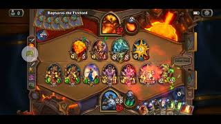 Hearthstone - Ragnaros and Ahune vs Token Druid