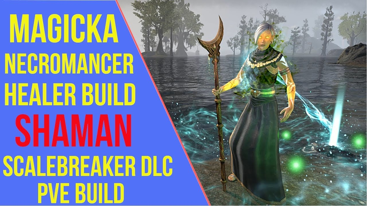 Magicka Necromancer Healer PVE Build ESO - ArzyeLBuilds