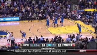 End of the game & Curry game-winner vs. Mavericks 12-11-13
