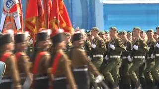 Indian army men turn the cynosure of all eyes at Russian Victory Day parade