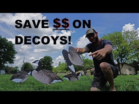 Save YOUR Money On Full Body Decoys! Buy Alot for Cheap!