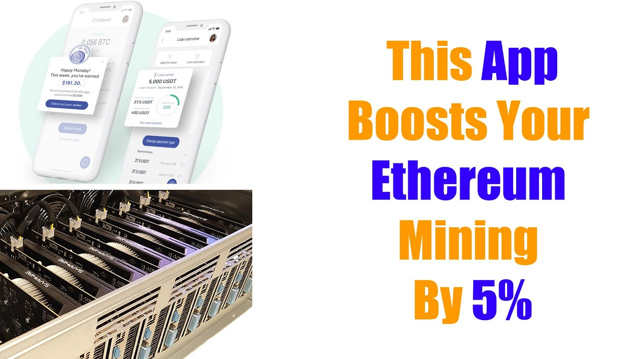 Use This App To Increase Your Ethereum Mining Yield