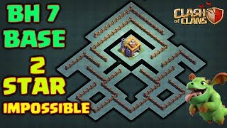 BEST BUILDER HALL 7 BASE DESING w / PROOF | COC BH7 BASE ANTI ALL TROOPS | CLASH OF CLANS