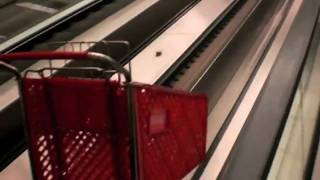 Shopping Cart Escalators At Target Buckhead Atlanta W/ Dieselducy