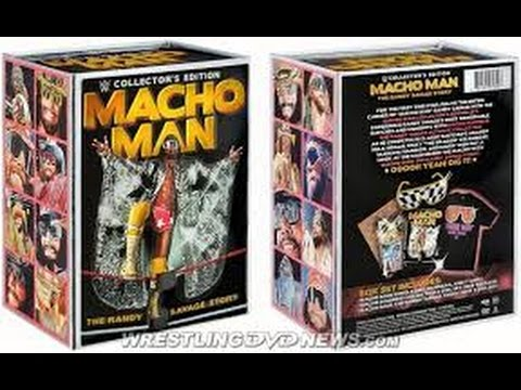 Close Up Look At The Crown Jewel Macho Man Collectors Set DVD!