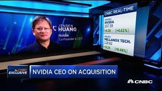 Nvidia CEO Jensen Huang on Mellanox acquisition thumbnail