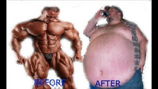 When Professional Bodybuilders Stops Working Out | From Muscular to Fat