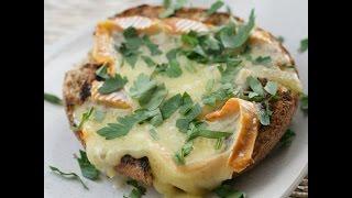 Юлия Высоцкая —  Хлеб с сыром на гриле