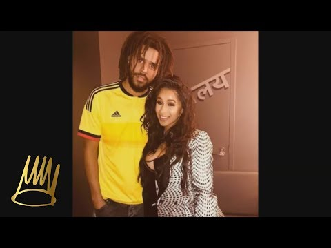J. Cole Meets Cardi B For The First Time.