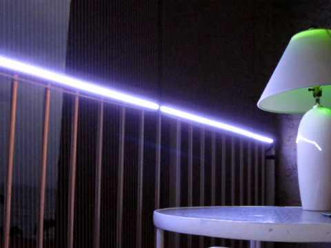 Waterproof LED Strips on LEDs Home Lighting Balcony  YouTube