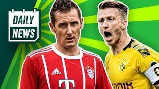 Erik ten Hag sagt Bayern (erstmal) ab! Schalke muss 3-4 Monate auf Sane verzichten! Reus fraglich!