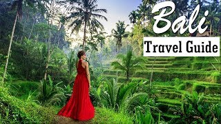 Bali Travel Guide - For First Timers Traveling to Bali - Part 1