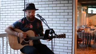 "Dean Heckel singing Chris Stapleton's ""Broken Halos"" at Elk Run Gol..."