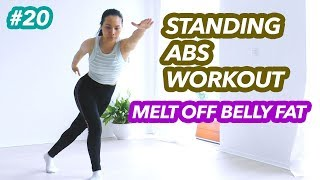 Post Weight Loss, Post Pregnancy, Mid-Section, Loose Skin anhfit workout video